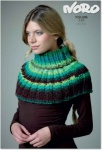 Noro Air Polo Neck Warmer Pattern