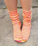 West Yorkshire Spinners Tequila Sunrise Socks