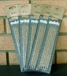 Addi Double Pointed Glitter Needles US 10.5 x 20cms