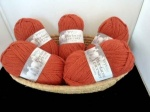 West Yorkshire Spinners Blue Faced Leicester Aran, Burnt Orange