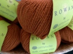 Rowan Amy Butler Organic Aran Saddle Brown