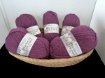 West Yorkshire Spinners Blue Faced Leicester DK, Aubergine