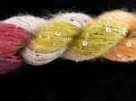 Artyarns Beaded Mohair with Sequins #1023 - Silver Beads
