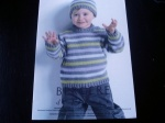 Berg�re de France Child's Sweater and Hat Pattern