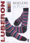 Bergère de France Striped Bobby Socks Pattern