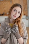 Brooklyn Tweed Chinook Fingerless Gloves