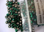 Debbie Abrahams Silver Lined Holly Beads Size 6/0