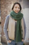 Brooklyn Tweed Elfreide Cabled Scarf