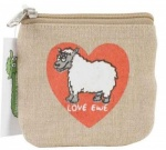 Dublin Gift Company Accessories Pouch - Love Ewe