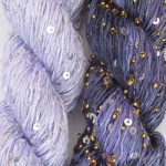 Artyarns Gold and Silver Shawl Kit - Lilac