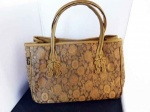 Mili Silk Gold Tote Bag