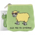 Dublin Gift Company Accessories Pouch - Ewe are my Sunshine