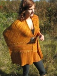 Ilga Leja Field and Forest Shawl / Scarf