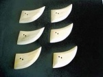 Kauni Light Short Scimitar Buttons