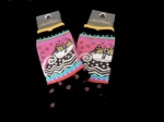 Laurel Burch Spotted Cat Socks - Black Colourway