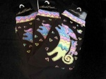 Laurel Burch Dog and Puppy Socks