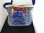 Laurel Burch Azul Crossbody Tote
