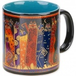 Laurel Burch Santa Fe Ceramic Mug