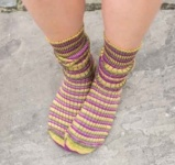 West Yorkshire Spinners Passion Fruit Cooler Socks