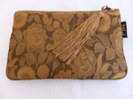 Mili Silk Accessories Pouch - Gold