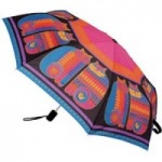 Laurel Burch Rainbow Cat Cousins Umbrella