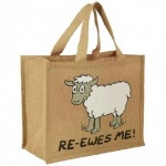 Dublin Gift Company Jute Bag - Re- Ewes-Me