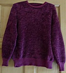 Rowan Fine Cotton Chenille Sweater by Kim Hargreaves