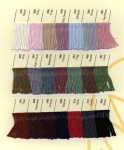 Rowan 4 Ply Soft and Wool Cotton Shade Card