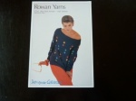Rowan Judy Dodson Boat Neck Sweater Pattern