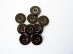 Rowan Large Antique Gunmetal Buttons #407