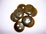 Rowan Large Brown Horn Buttons #334