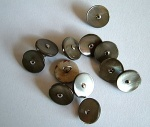 Rowan Medium Grey Stud Buttons #319