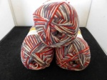 Regia 4 Ply Wool Seasons Sock Yarn - #9413, Rudolph