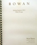 Rowan Shade Cards Spring / Summer 2013