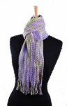 West Yorkshire Spinners Lilac Scarf