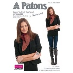 Patons Shadow Tweed Scarf Kit - Red