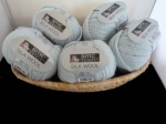 SMC Select  Silk Wool #7152, Light Blue