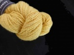 Shilasdair Mulberry Silk / Merino Wool Lace Weight  Shade C, Tansy Gold