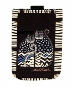 Laurel Burch Spotted Cats Cell Phone Case