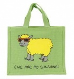 Dublin Gift Company Jute Bag - Ewe Are My Sunshine