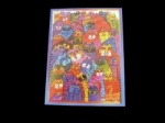 Laurel Burch Cats Thank You Card