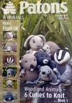 Patons Woodland Animals - Book 1