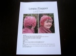 Woolly Wormhead Loopy Flapper Hat Pattern