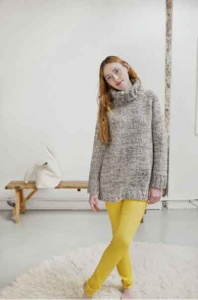 Brooklyn Tweed Forester Pullover Pattern