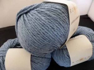 Rowan Cotton Cashmere #222, Faded Denim