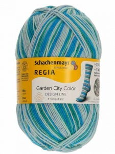 Dee Hardwicke 4 Ply Wool Garden City Sock Yarn - Delphinium