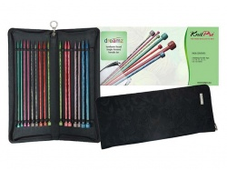 Knit Pro Dreamz Symfonie  25 cms Straight  Needle Set