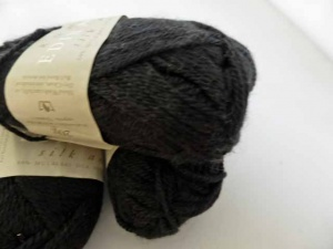 Rowan Edina Ronay Silk and Wool Shade #840, Black