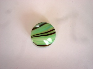 Green/ Brown Striped Buttons