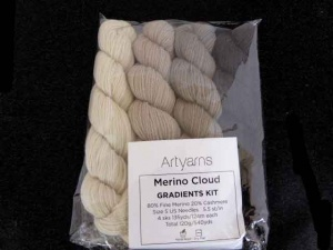 Artyarns Merino Cloud Gradients Kit in Green